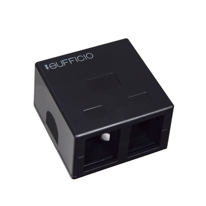 Surface Mount Keystone box for 2 modules